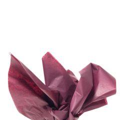 Färgat silkespapper burgundy