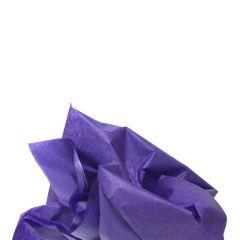 Färgat silkespapper viol