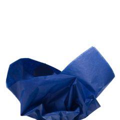 Färgat silkespapper kungsblå