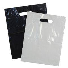Plastkasse med utstansat handtag frostad
