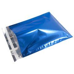 Metallic Blå E-handelspåse