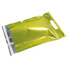 Metallic Grön E-handelspåse med handtag
