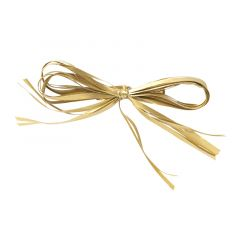Presentrosett raphia gold